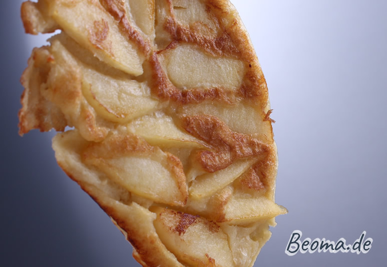 gebackener Apfelpfannkuchen